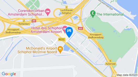ibis budget Amsterdam Airport Map