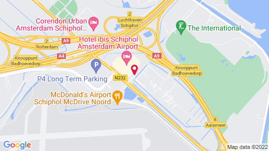 ibis budget Amsterdam Airport Map
