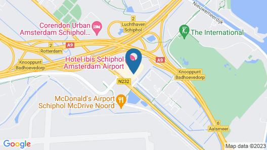 Hotel ibis Schiphol Amsterdam Airport Map