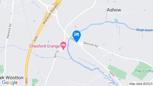 Kenilworth Riverside Hotel Map
