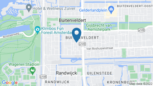 Holiday Inn Express Amsterdam - South, an IHG Hotel Map
