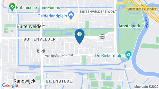 NH Amsterdam Zuid Map