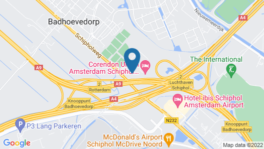 Corendon Village Hotel Amsterdam Map