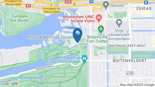 Hotel & Wellness Zuiver Map