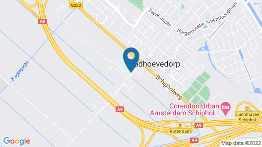 Ramada by Wyndham Amsterdam Airport Schiphol Map