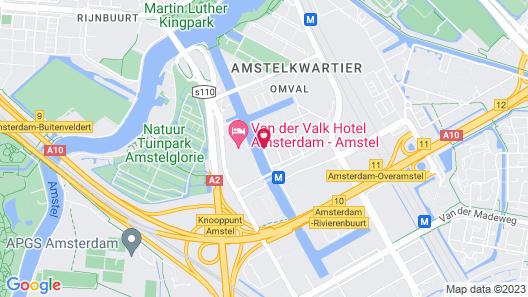 Leonardo Royal Hotel Amsterdam Map