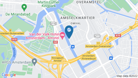 Leonardo Royal Hotel Amsterdam Map