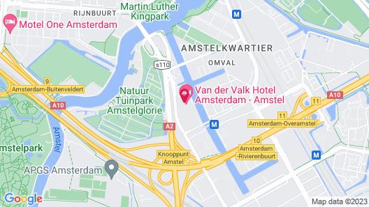 Van der Valk Hotel Amsterdam-Amstel Map