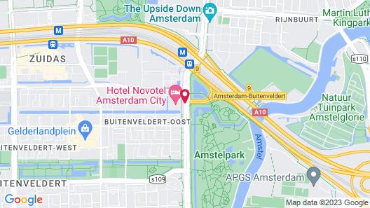 Novotel Amsterdam City Map