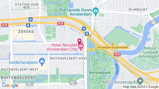 Holiday Inn Amsterdam, an IHG Hotel Map