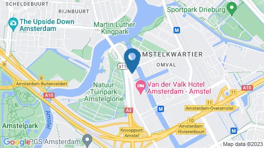 Mercure City Amsterdam City Hotel Map