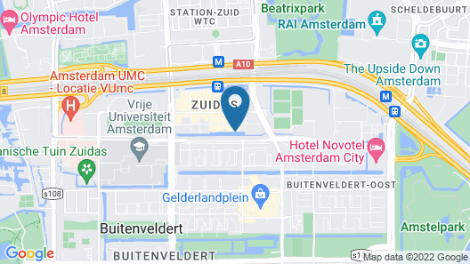 Crowne Plaza Amsterdam South, an IHG Hotel Map