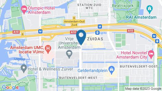 PREMIER SUITES PLUS Amsterdam Map