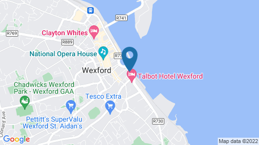 Talbot Suites at Stonebridge Map