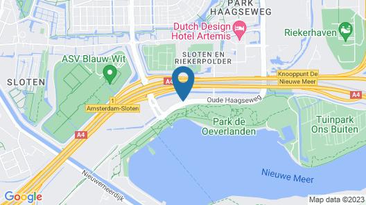 Mercure Hotel Amsterdam West Map