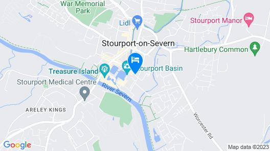 Baldwin House Map