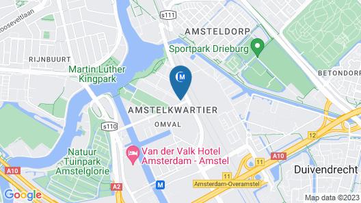 QO Amsterdam Map