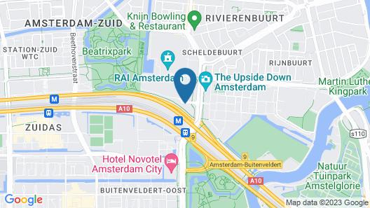 nhow amsterdam rai Map