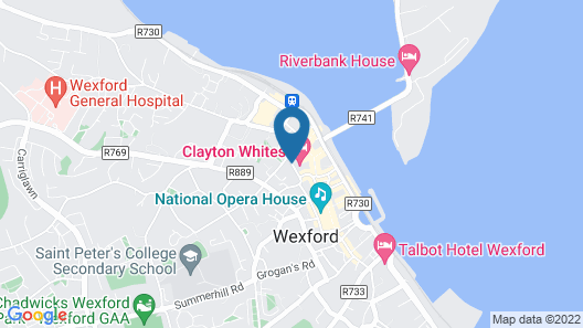 Clayton Whites Hotel Map