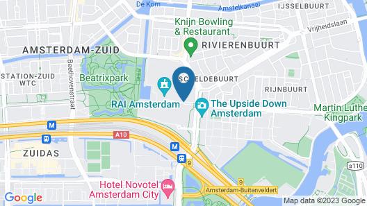 Motel One Amsterdam Map