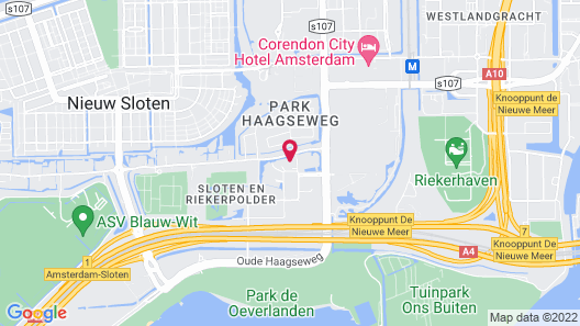 Dutch Design Hotel Artemis Map