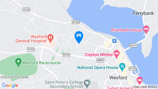 Allure Wexford Map