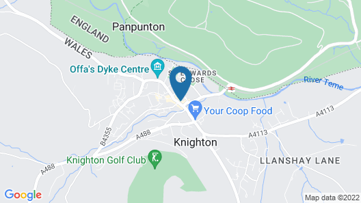 The Knighton Hotel by Paymán Club Map