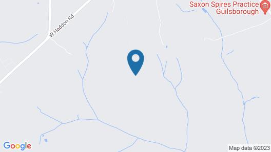 Coton Lodge - B&B Map