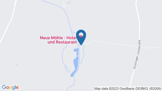 Neue Mühle Hotel und Restaurant Map