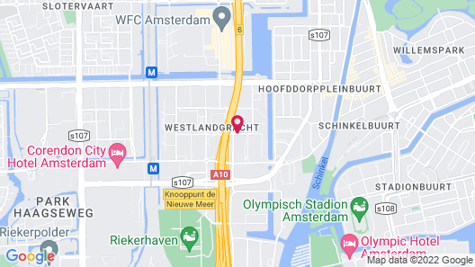 Best Western Amsterdam Map