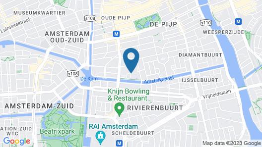 Hotel Okura Amsterdam Map