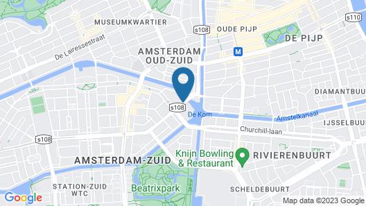 Apollo Hotel Amsterdam, a Tribute Portfolio Hotel Map