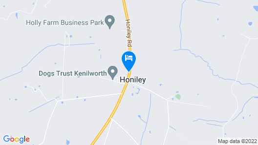 Honiley Court Hotel Map