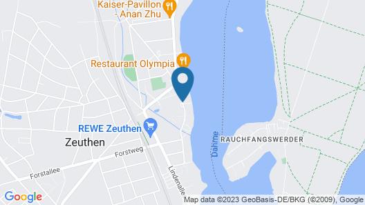 Kuhnle Tours Zeuthen Map