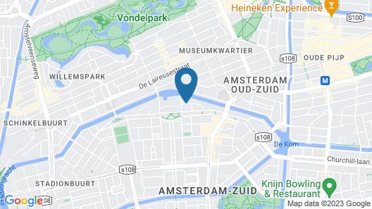 Bilderberg Garden Hotel Map