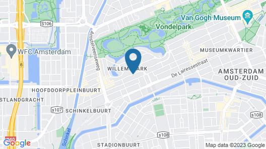 Hotel Aadam Wilhelmina Map