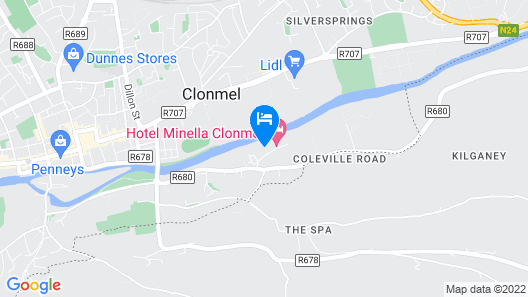 Hotel Minella  Map