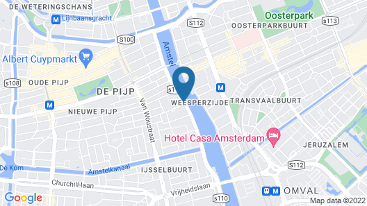 Pestana Amsterdam Riverside Map