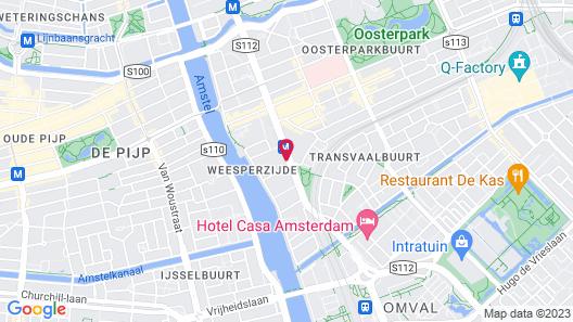 Volkshotel Map
