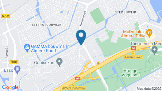 ibis Styles Almere Map