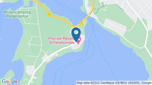 Appartements im Precise Resort Schwielowsee, Werder an der Havel Map