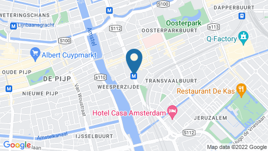 The Student Hotel Amsterdam City Map