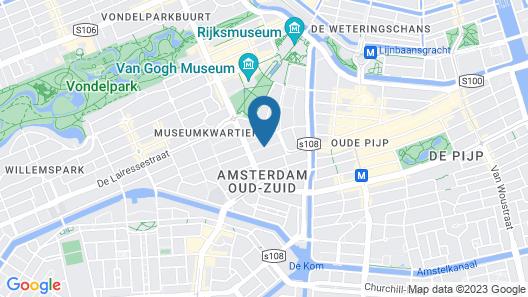 Cityden Residences Museum Square Map