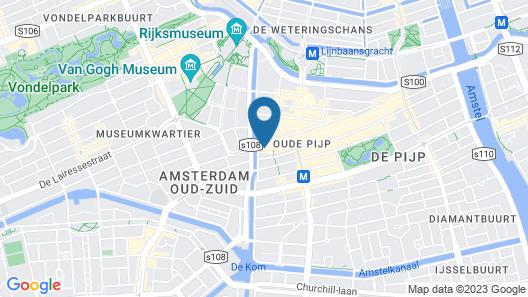 Sir Albert Hotel Amsterdam Map