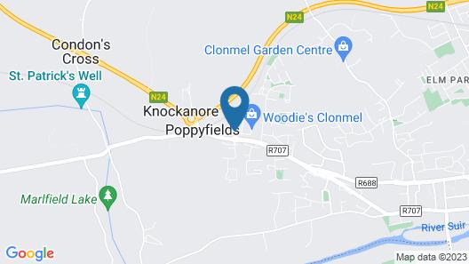 Clonmel Park Hotel Map