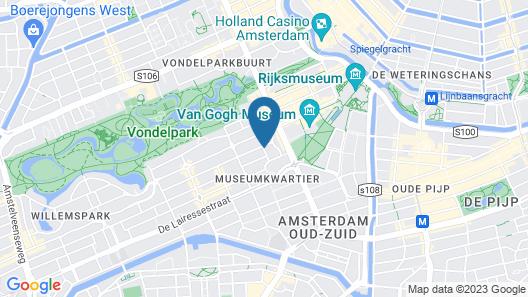 XO Hotel Inner Map