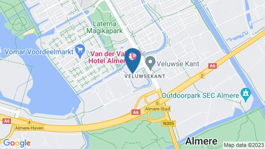 Van Der Valk Hotel Almere Map