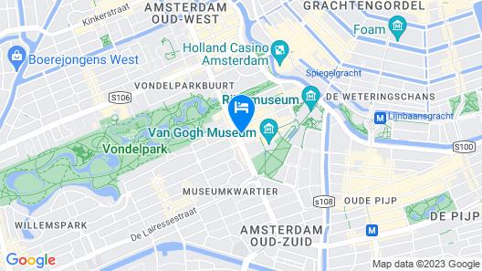 Conservatorium Hotel Map