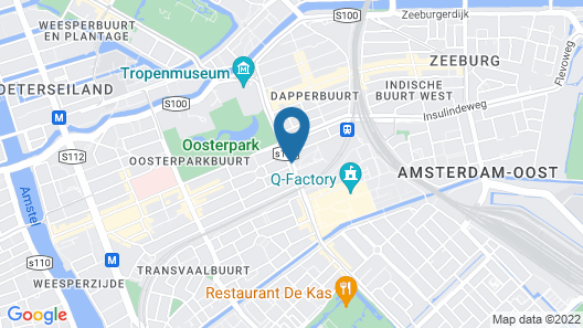 The Manor Amsterdam Map