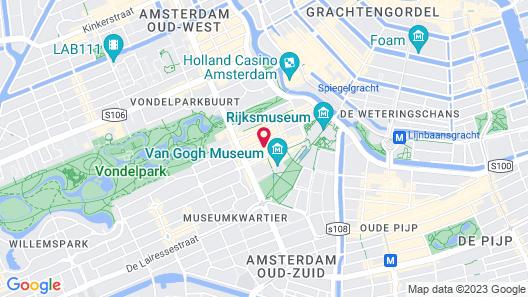 XO Hotels Van Gogh Map
